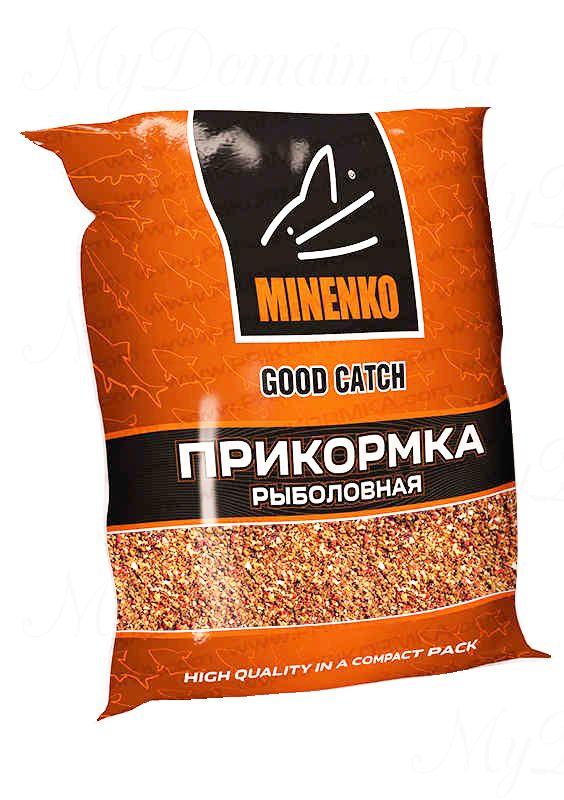 Прикормка МИНЕНКО Good Catch Слива, вес 0,7 кг