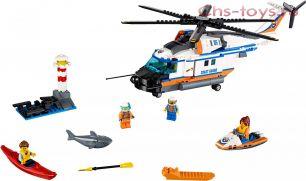 Конструктор Lari Город Сверхмощный спасательный вертолет 10754 (60166) 439 дет