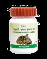 Гокшуради Гуггул для мочеполовой системы Дивья Патанджали | Divya Patanjali Gokshuradi Guggul