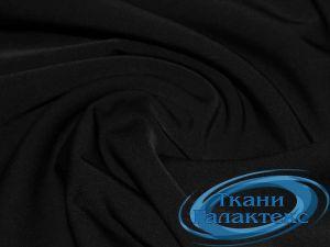 Костюмная ткань нано стрейч 16661/C#1 черный