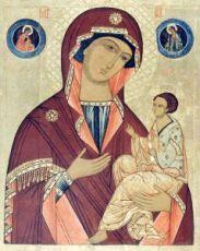 Грузинская икона БМ (копия старинной)