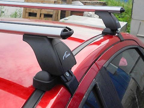 Багажник на крышу Ravon R2 2016-..., Lux, аэродинамические дуги (53 мм)