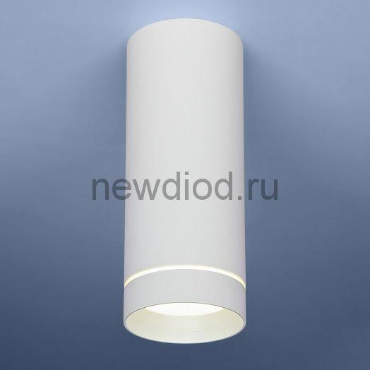 Накладной точечный светильник DLR022 12W 4200K белый матовый
