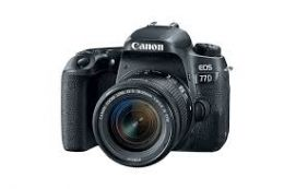 Canon EOS 77D Kit 18-55MM IS II