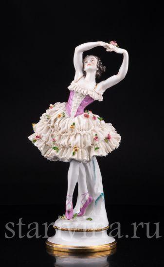 Изображение Балерина, кружевная, Volkstedt, Германия, до 1935 г