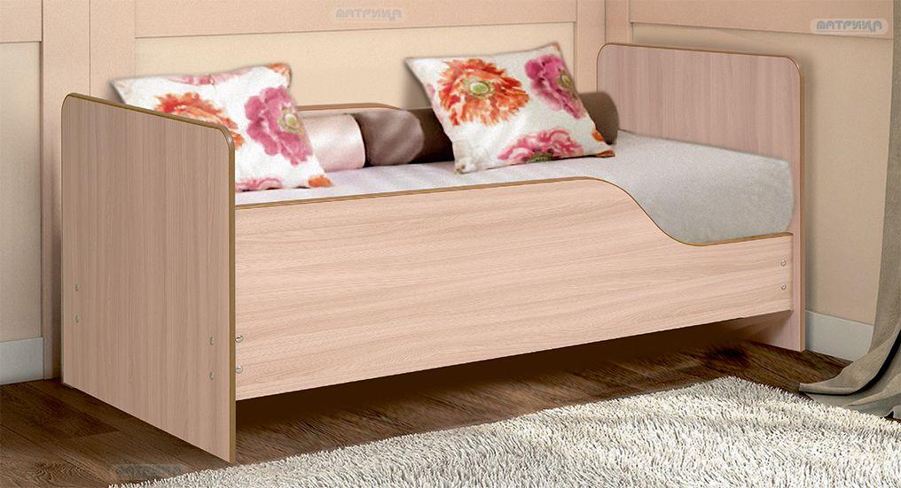 Кровать детская с бортом Малышка № 1