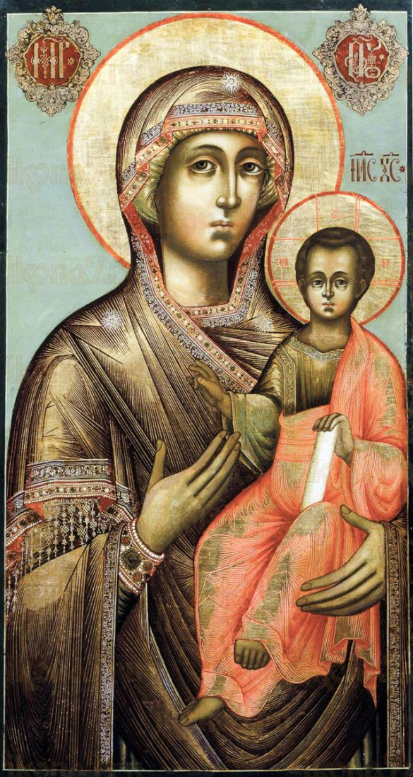 Смоленская икона Божией Матери (копия старинной)