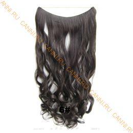 Искусственные термостойкие волосы на леске волнистые №006 (60 см) - 100 гр.