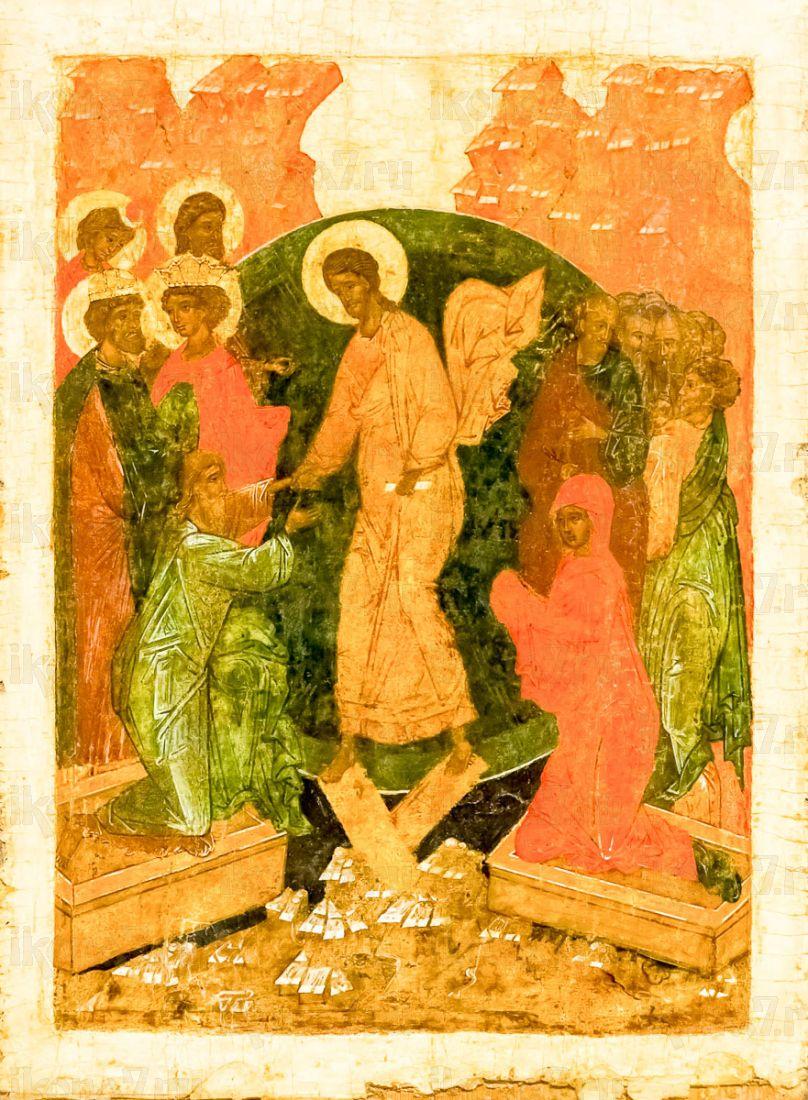 Икона Воскресение Христово (копия старинной)