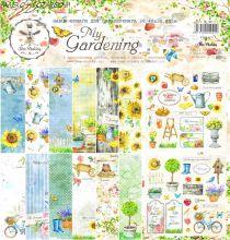 """Набор бумаги """" My Gardening"""" от Bee Shabby"""