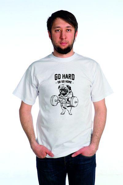 Go Hard футболка мужская