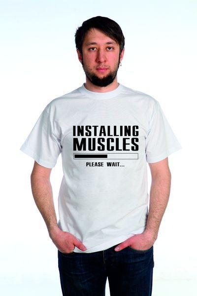 Мускулы футболка мужская