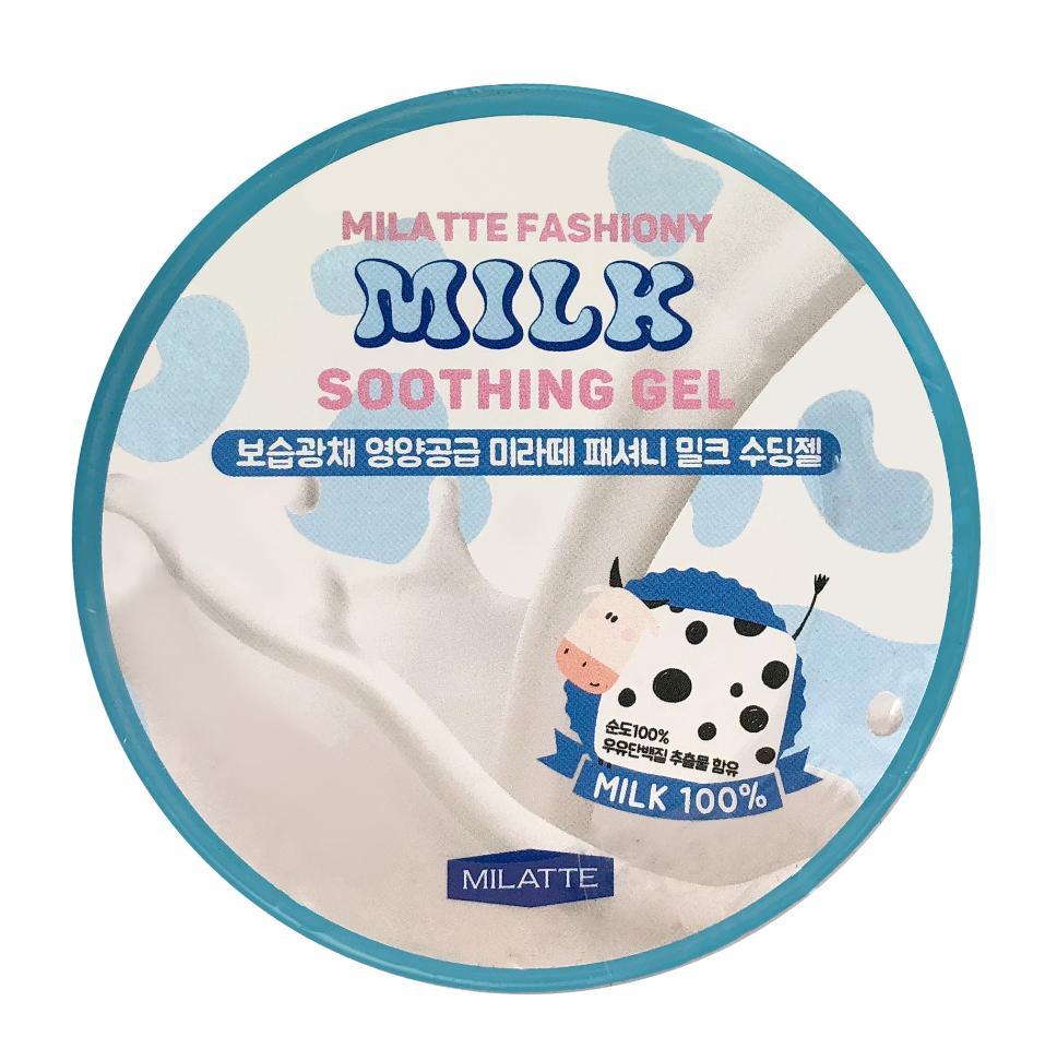 Гель универсальный увлажняющий Milatte Fashiony Milk Soothing Gel 300мл