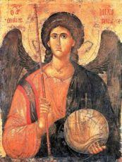Михаил Архангел (копия иконы 14 века)