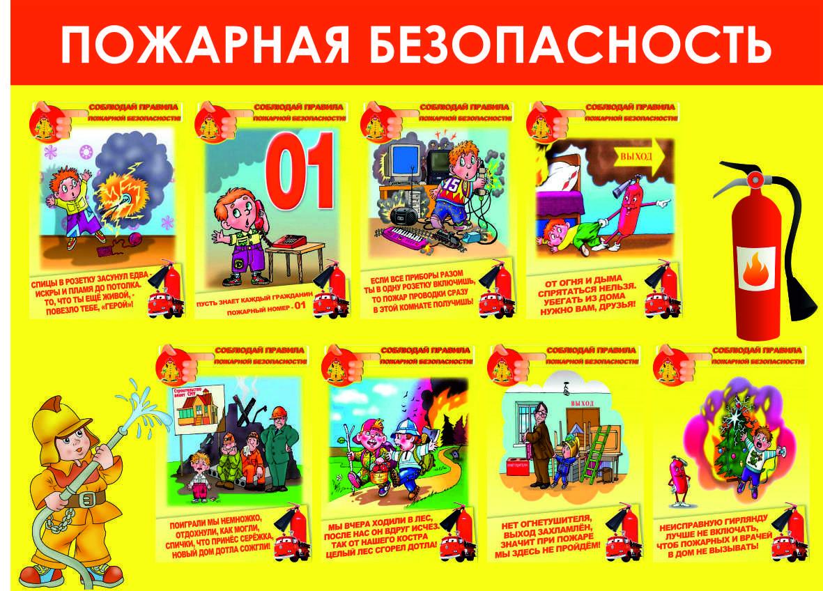Картинка уголок пожарной безопасности в детском саду