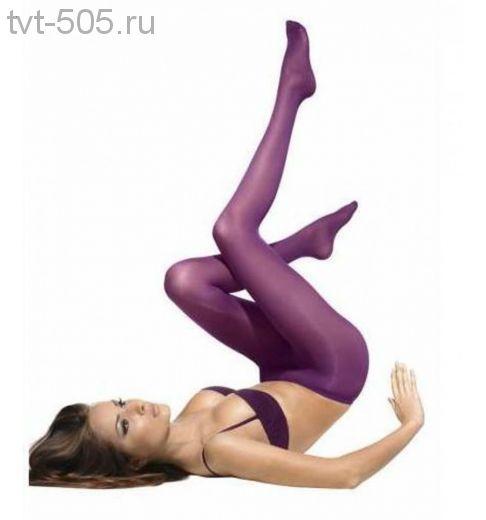 Колготки цветные женские fioletto 30ден Lora Grig