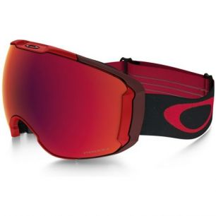 Oakley AIRBRAKE XL Obsessive Lines Red/Prizm Torch + Prizm Rose