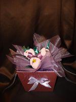 Тюльпаны - подарочный набор с кофе и конфетами