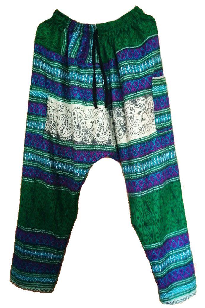Тёплые этнические штаны зуавы (СПб)