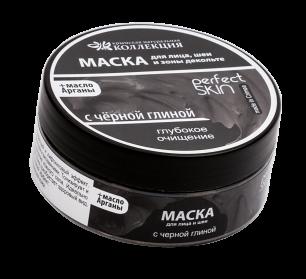 """""""КНК"""" Маска для лица , шеи и зоны декольте Глубокое очищение с черной глиной, 150г (1472)"""