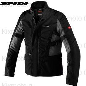 Мотокуртка Spidi Traveller 2, Черная с темно-серым
