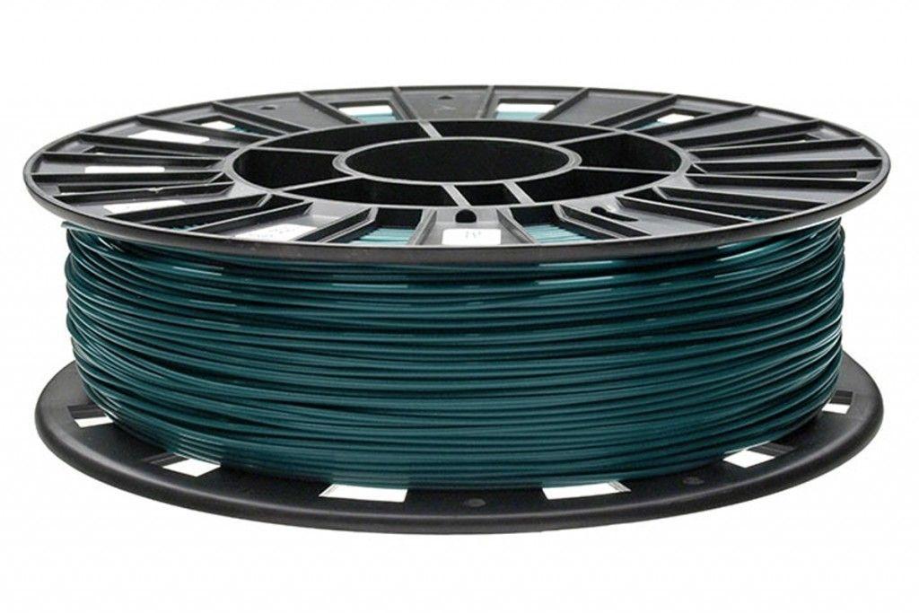 Rec pla пластик для 3d принтера ø1.75 зеленый 0,75кг