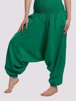 Женские однотонные хлопковые штаны алладины, купить в СПб в интернет магазине