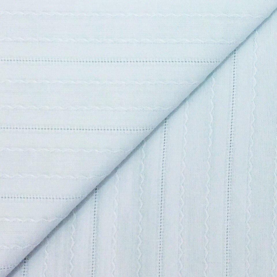 Ткань Мережка Голубая