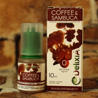 Delixia Coffee And Sambuсa 10мл 0мг