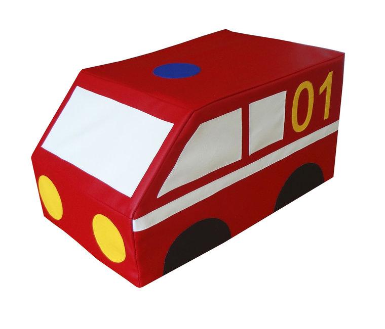 """Контурная игрушка """"Пожарная машина"""""""