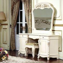 Стол AFINA туалетный с зеркалом эмаль