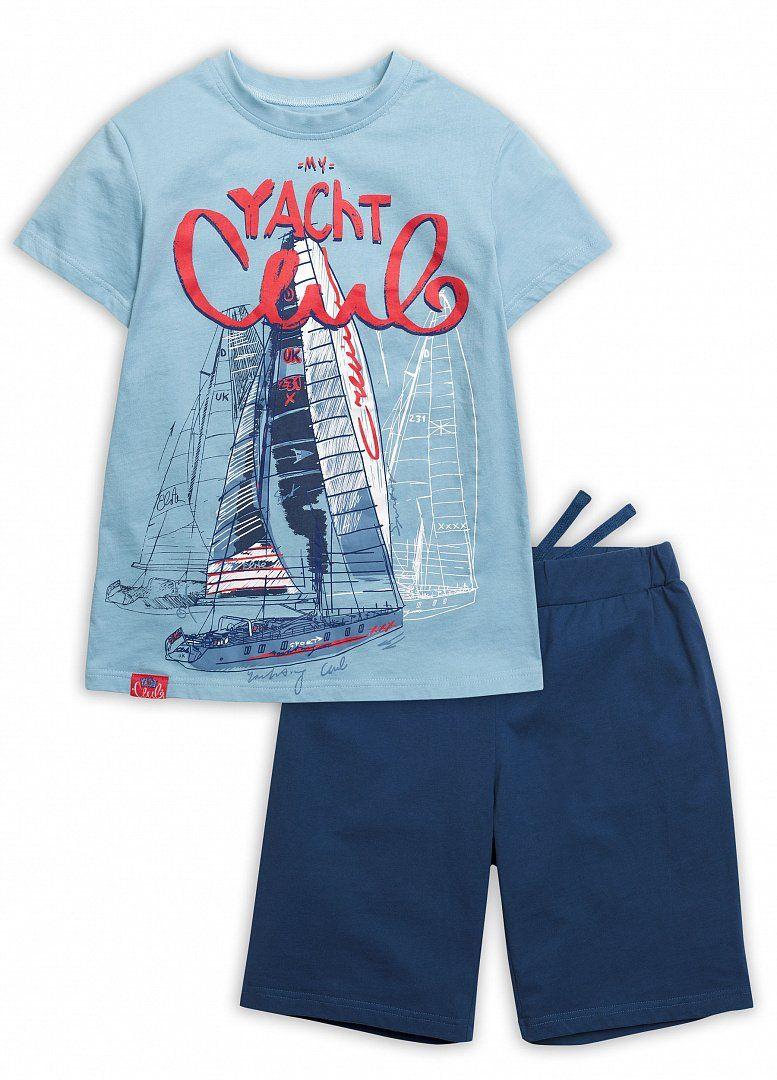 Футболка и шорты для мальчика 6 лет от Пеликан