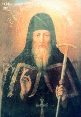 Икона Игнатий Печерский (копия 17 века)