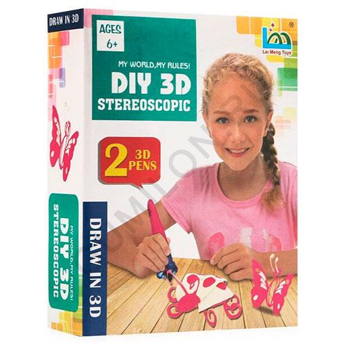 Набор для детского творчества DIY 3D STEREOSCOPIC, арт. LM222-5B