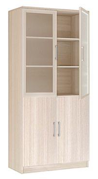 """Шкаф 2-х дверный со стеклом """"Соло"""" 20.21"""
