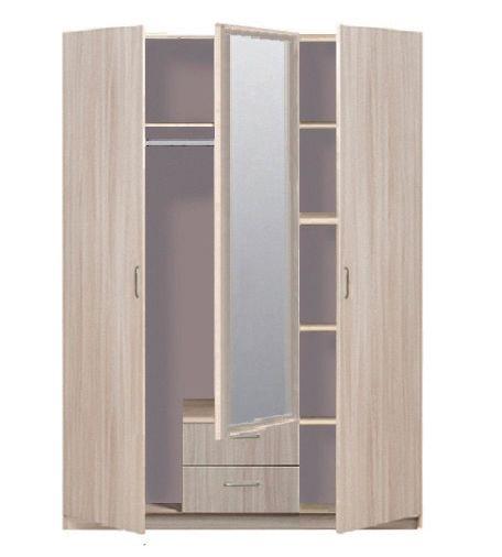 """Шкаф 3-дверный 5.14Z """"Эко"""" с зеркалом"""