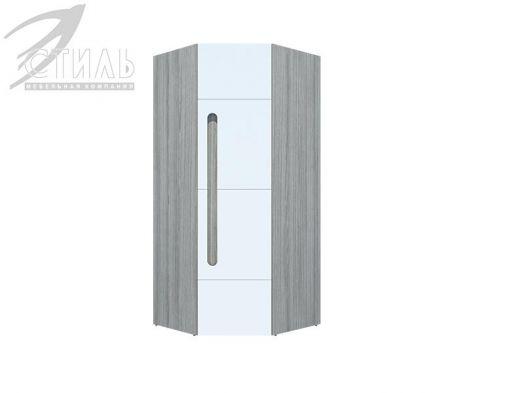 Шкаф угловой с полками элемент спальни Палермо