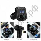 FM модулятор MP3 HY-82 + 2 USB выхода 1А/2,1А  (Bluetooth) пульт