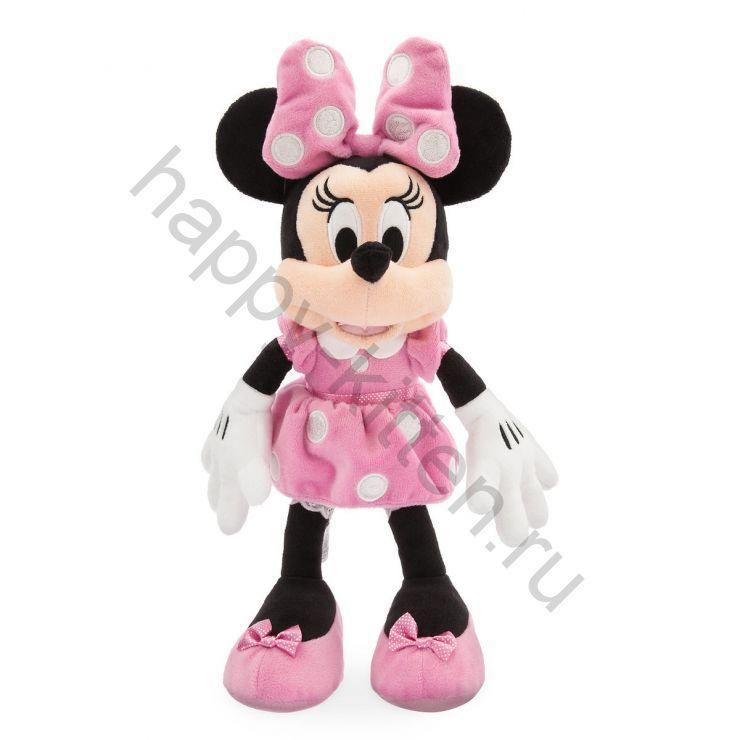 Мягкая игрушка розовая Минни Маус 35 см Дисней
