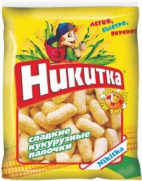 """Палочки кукурузные """"Никитка"""" 160гр*16"""