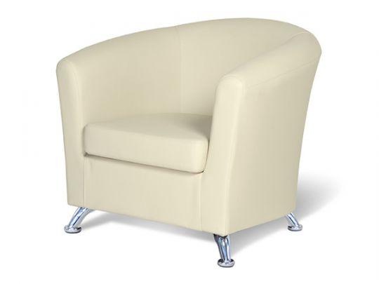 """Кресло для отдыха """"Евро"""" кож. зам. беж."""
