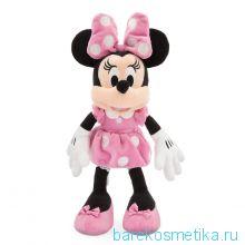 Мягкая маленькая игрушка розовая Минни Маус 35 см Дисней