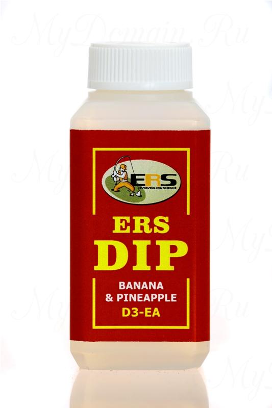 Жидкий ДИП ERS D3 E A banana pineapple банан ананас, объем 100 мл