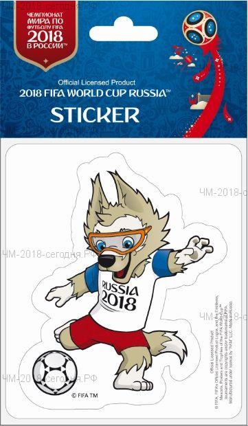 FIFA-Наклейка бумажная фигурная Забивака (3)