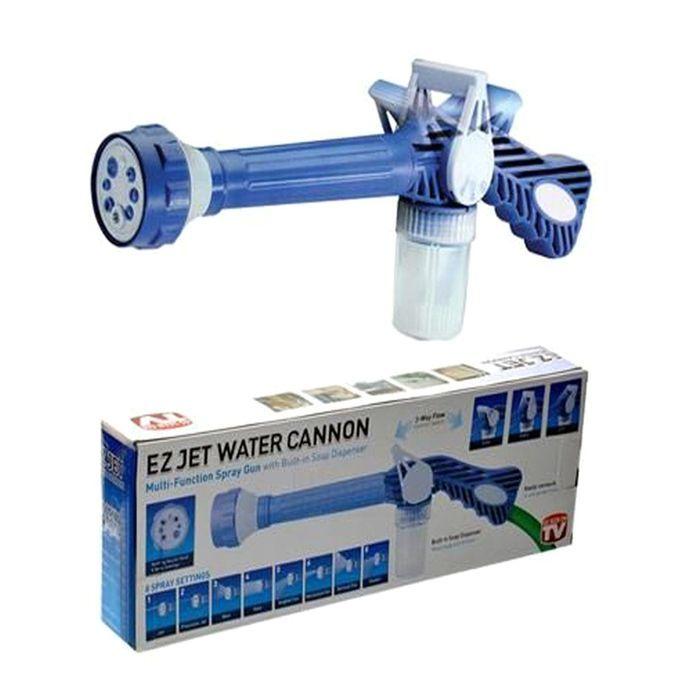 Насадка-Распылитель На Шланг С Бачком Для Шампуня Ez Jet Water Cannon (Из Джет Ватер Канон)
