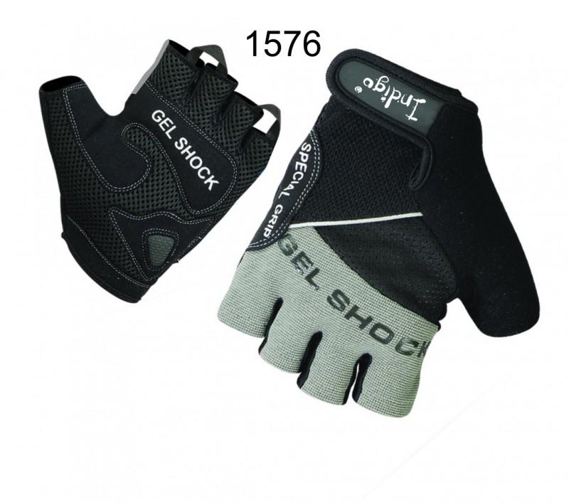 Перчатки атлетические INDIGO SB-16-1576 (кожа)