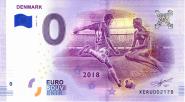 ЧМ по футболу в России 0 евро 2018 г. ДАНИЯ UNC