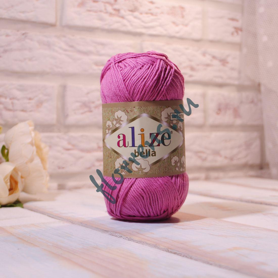 """Пряжа """"Alize"""" Bella / 198 розовый"""
