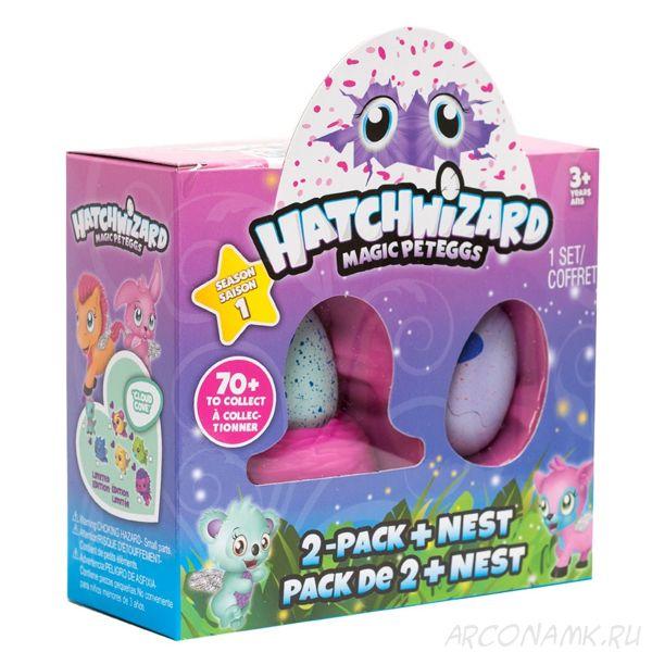 Яйцо-сюрприз Hatchwizard,набор из двух игрушек