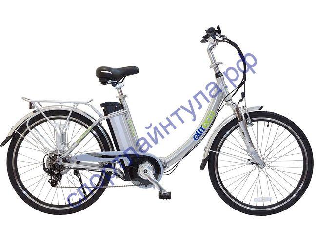 """Велогибрид Eltreco VECTOR L 350W polish aluminium складной 26"""""""